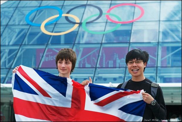 James @ Olympics 2012